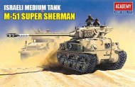 academy-models-m51-super-sherman-idf